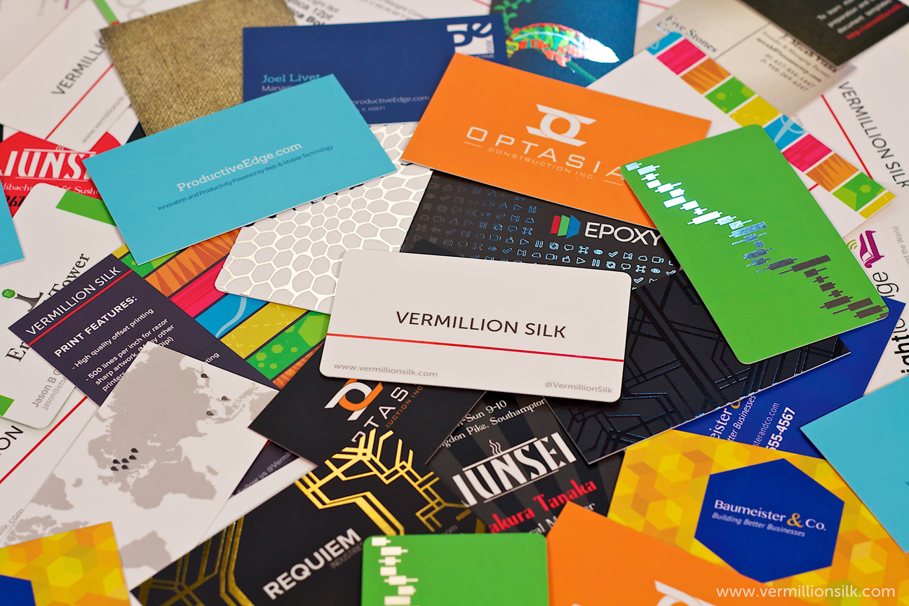 How business cards make a statement need a va for Business card collection